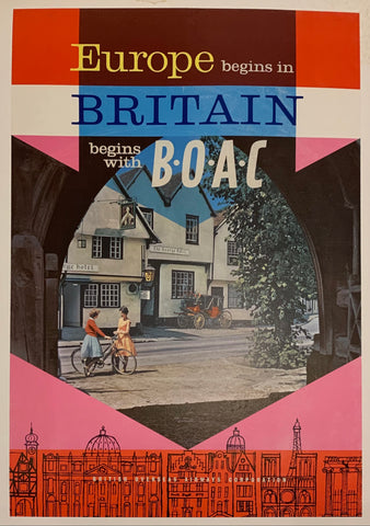 Europe begins in Britain begins with B.O.A.C