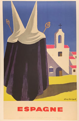 Espagne Travel Poster