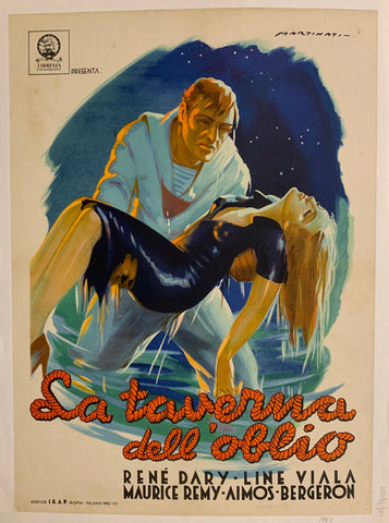 La Taverna Dell'Oblio (The Tavern of Oblivion) Film Poster