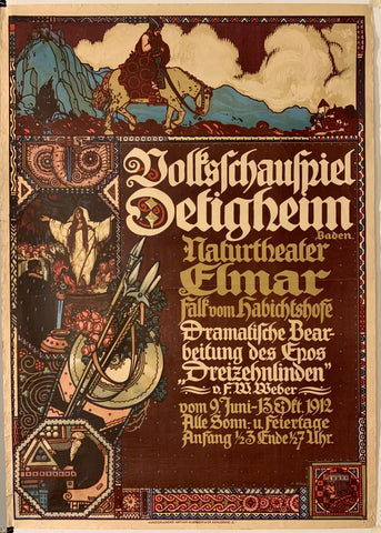 Dreizehnlinden German Theater Poster