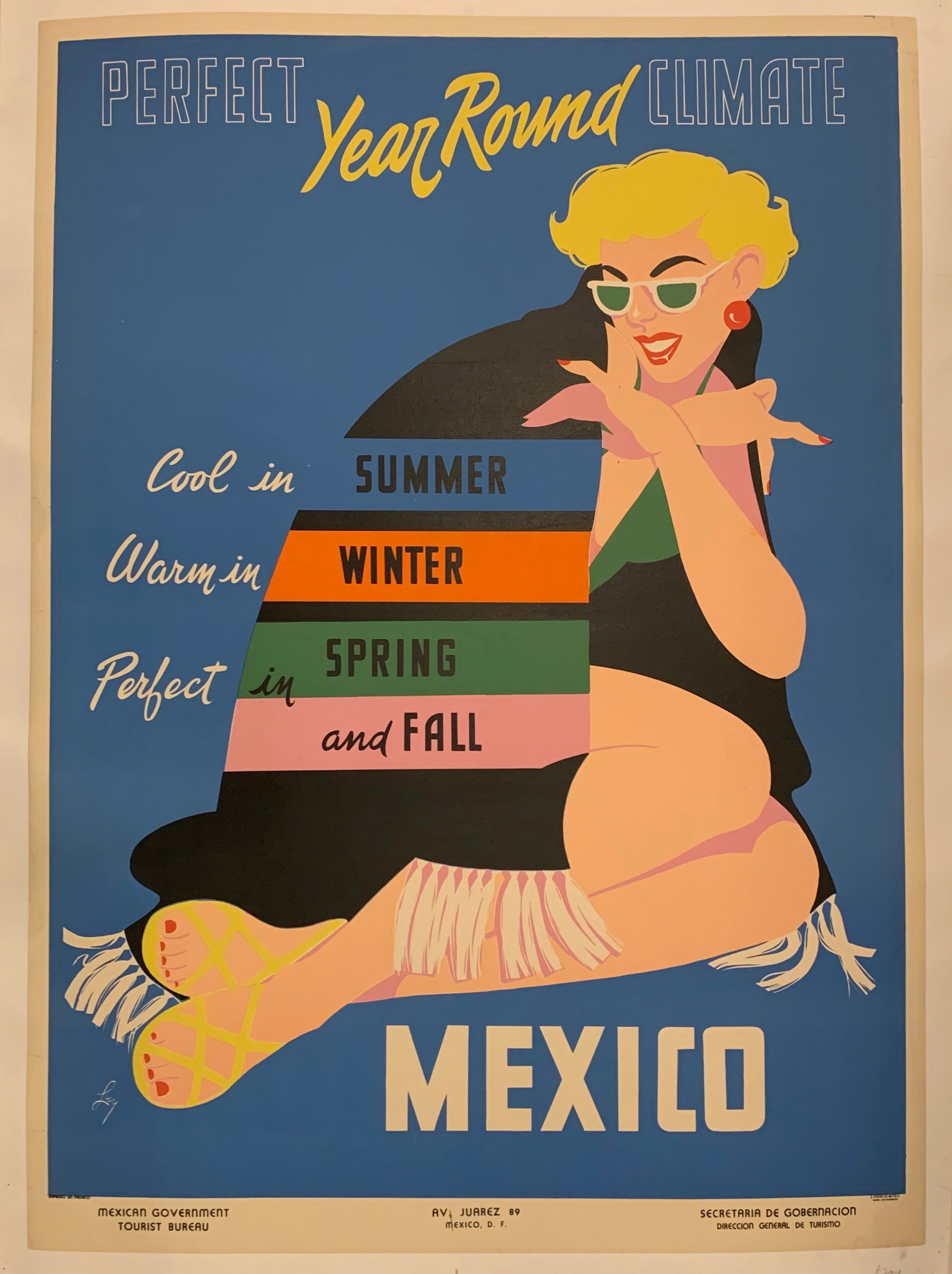 Mexico Travel Poster