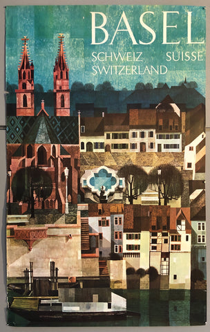 Poster of the Basel town square