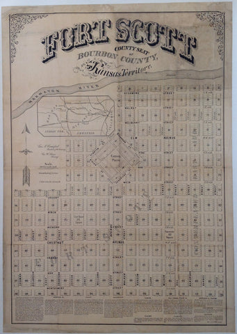 Fort Scott Kansas County Map