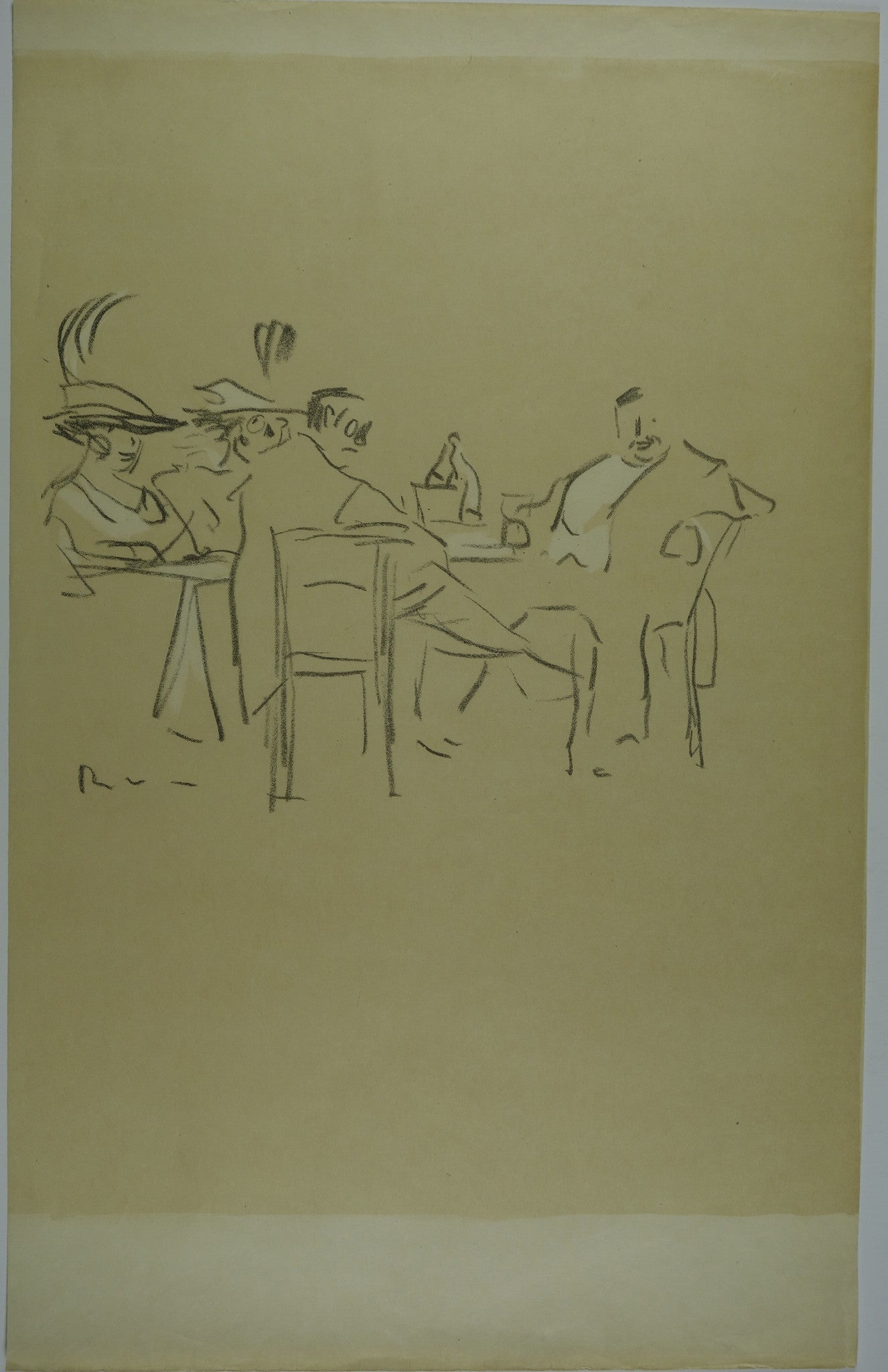 Dinner Date Lithograph