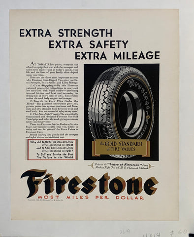 Firestone- Most Miles per Dollar