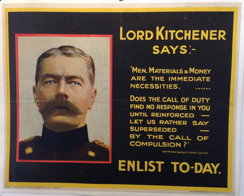 Lord Kitchener Says