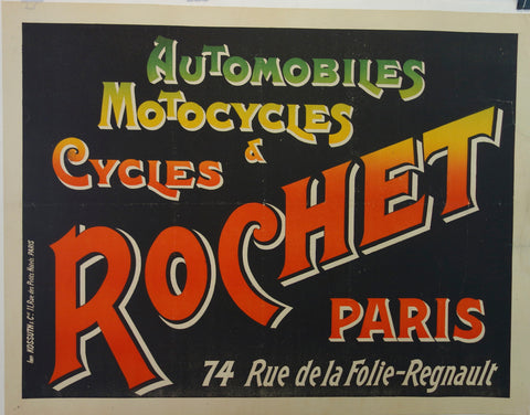 Automobiles, Motocycles & Cycles ROCHET