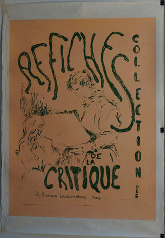 Affiches De La Critique Collection