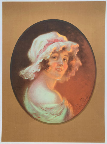 Portrait Painting Young Lady - Poster Museum