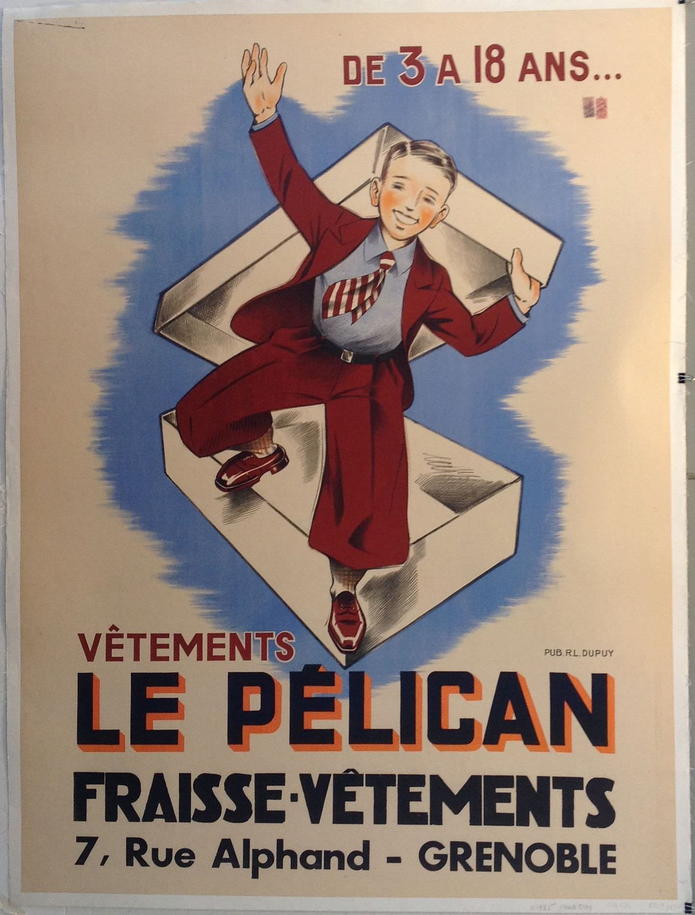 Le Pelican Fraisse Vetements