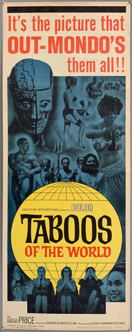 Taboos of the World (I tabù) Poster