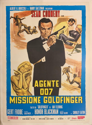 Agente 007 Missione Goldfinger Poster