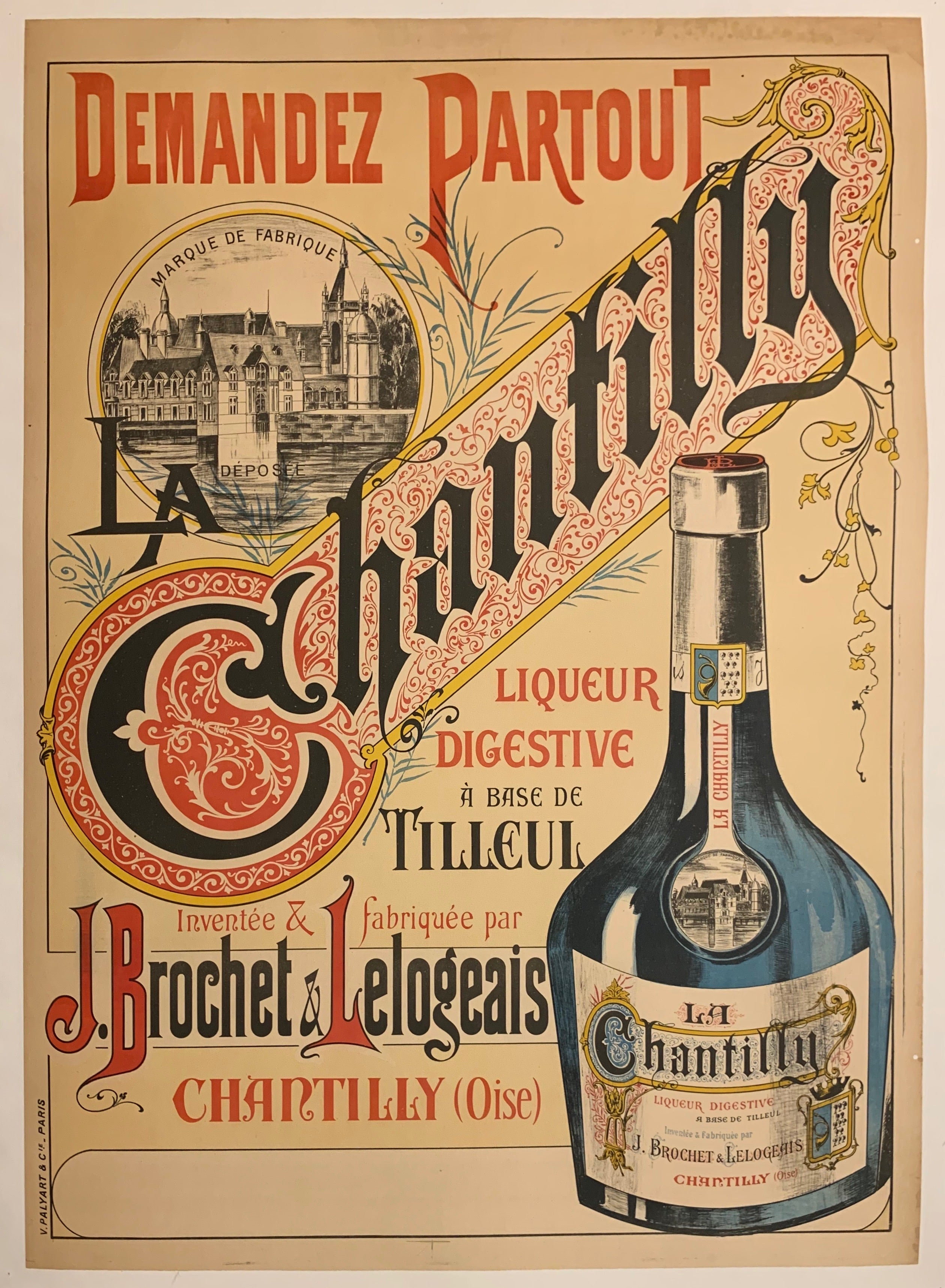 Chantilly Poster