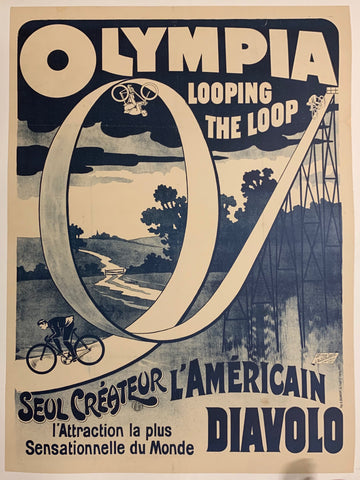 Olympia Looping The Loop Poster