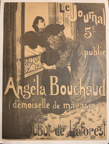 Angela Bouchaud Poster - Poster Museum