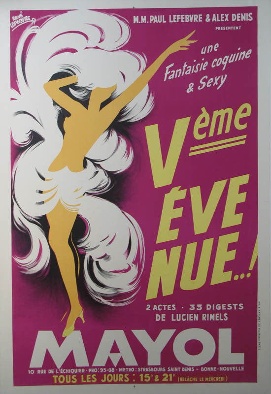 vintage french advertisement