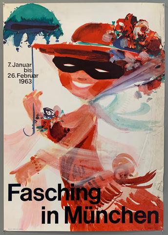 Fasching in München Poster