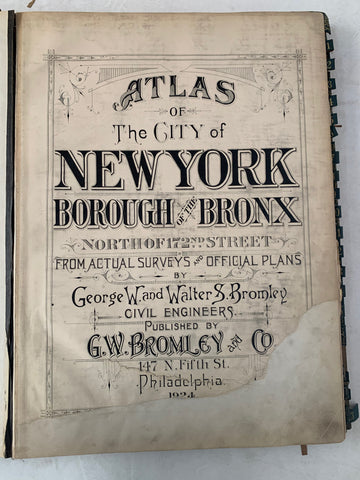 Atlas of the City of New York  Borough of the Bronx (Volume 2) 47