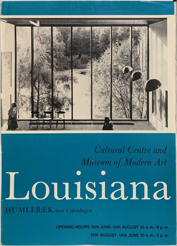 "Louisiana ""Cultural Centre and Museum of Modern Art"" - Poster Museum"