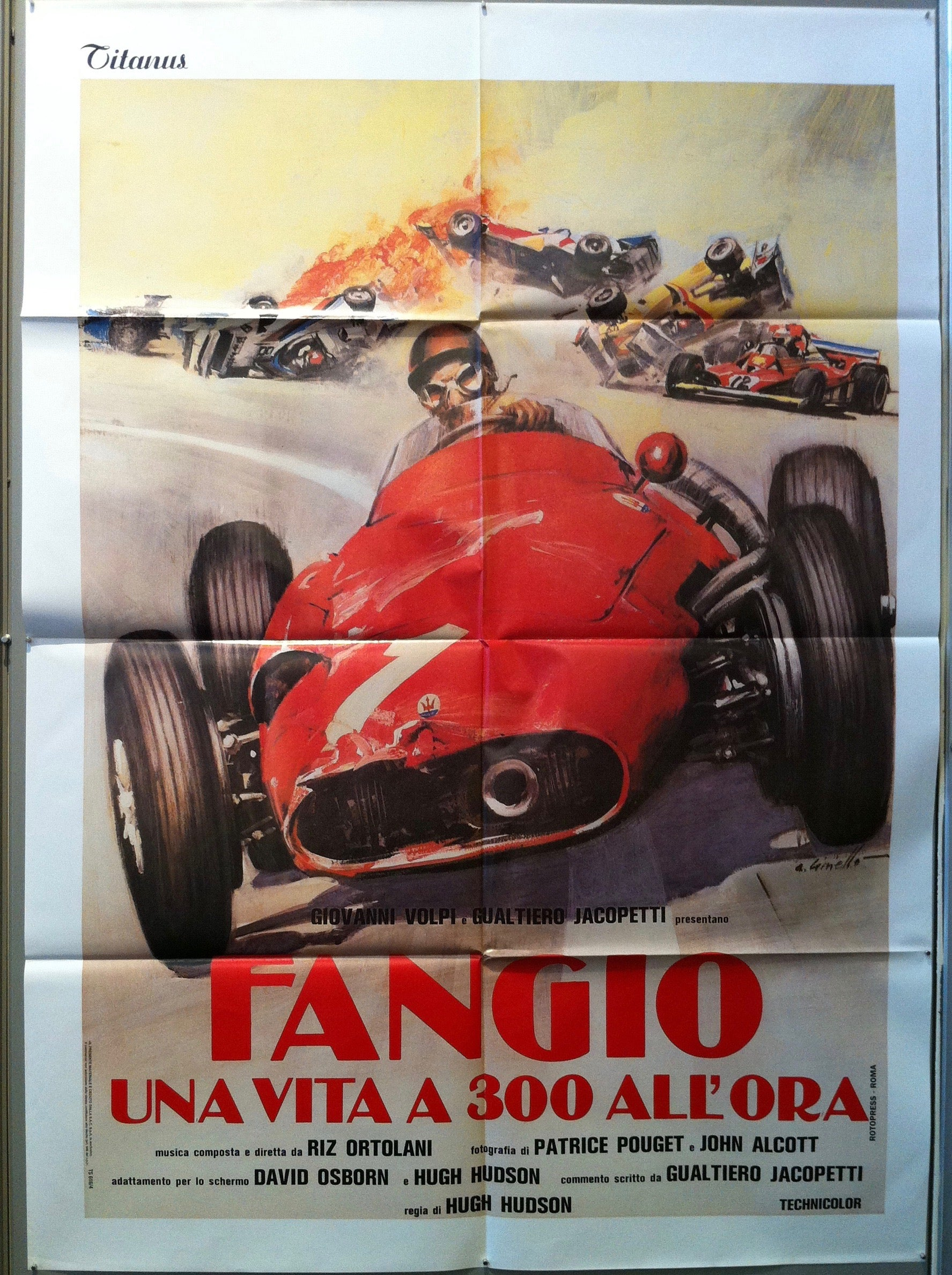 Fangio Una Vita a 300 All'Ora (Shorter)