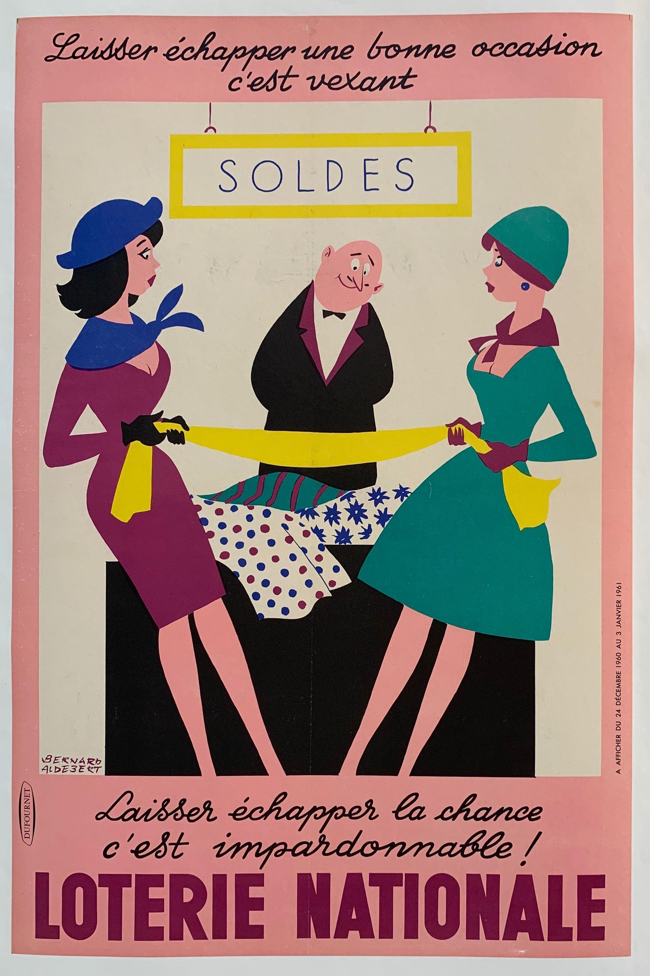 loterie nationale SOLDES - Poster Museum