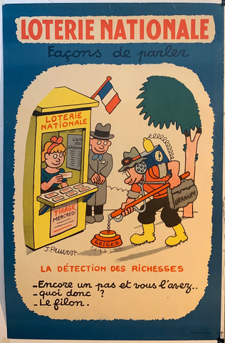 Loterie Nationale - Metal detector