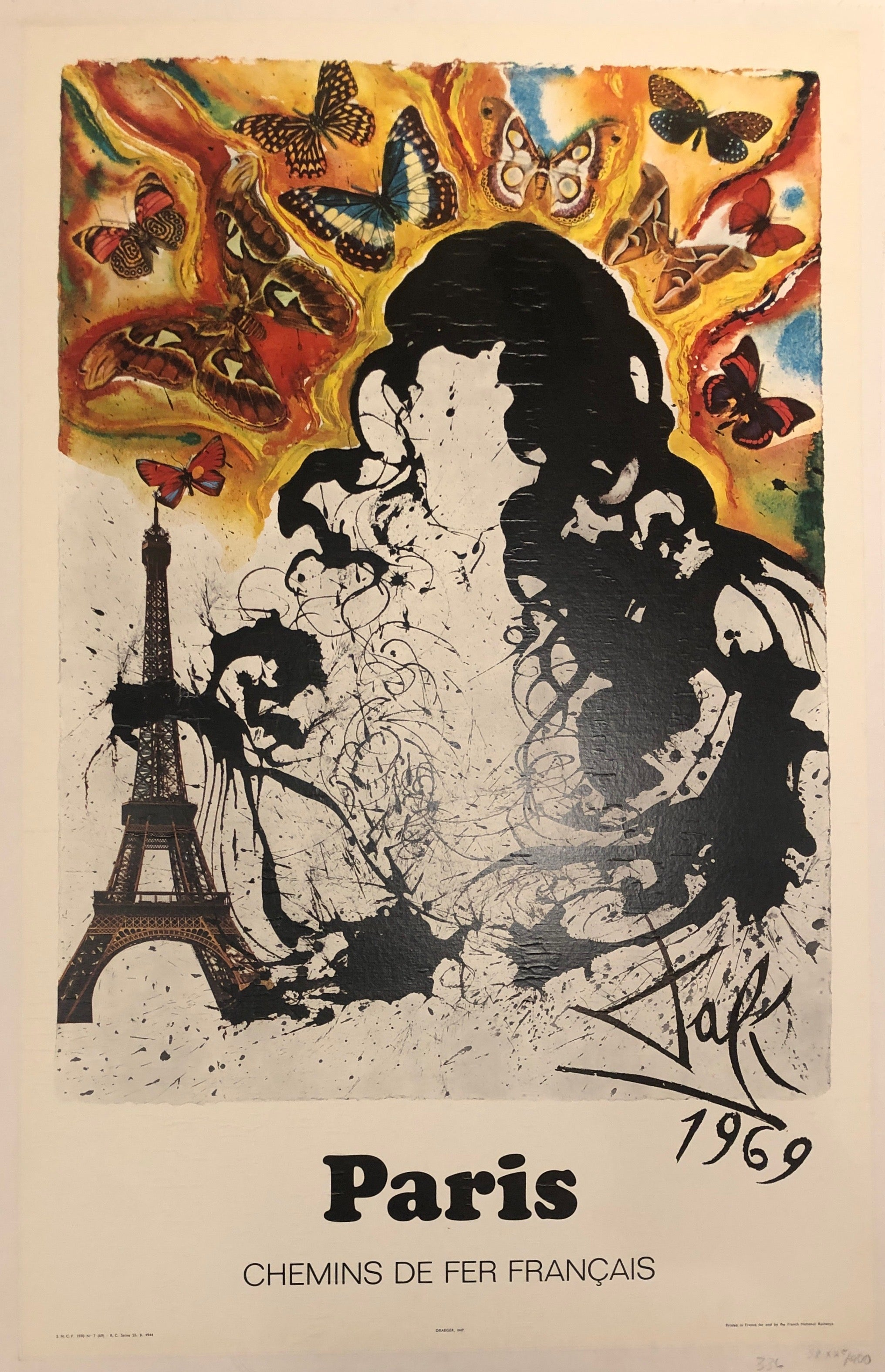 Paris Dali Poster