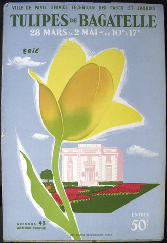 Tulipes De Bagatelle