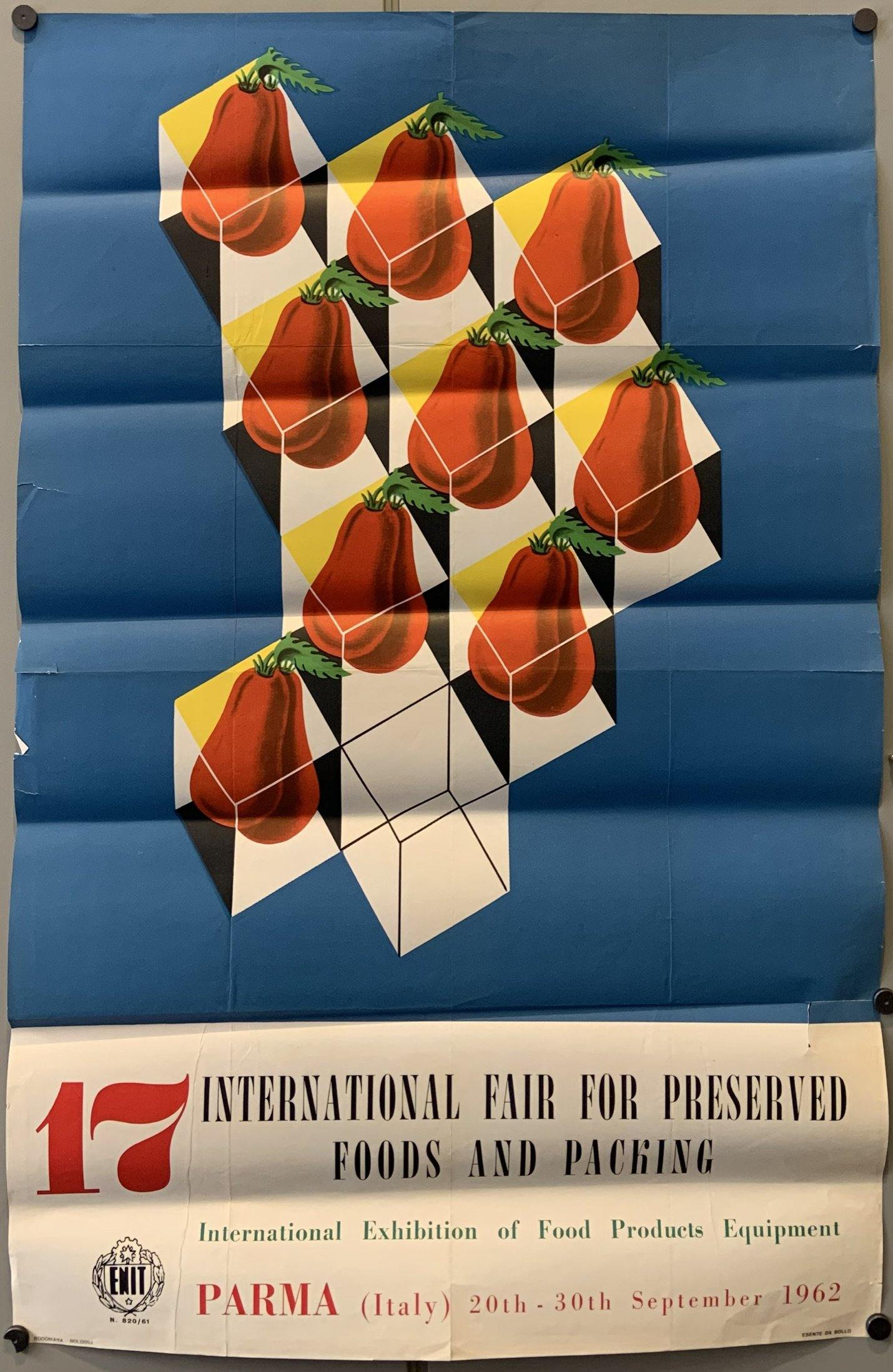 17th International Fair for Preserved Foods and Packing Poster - Poster Museum