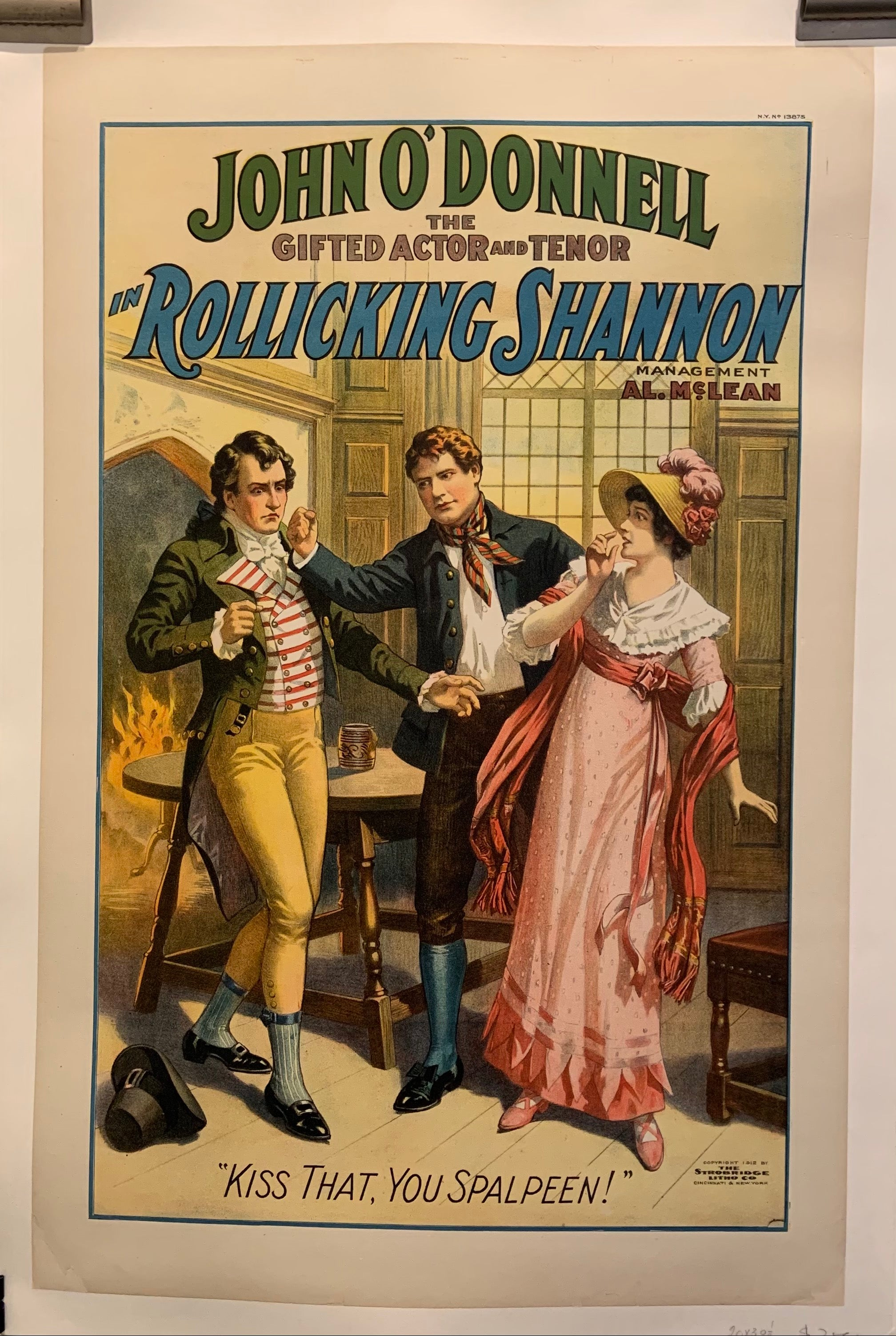 Rollicking Shannon Poster