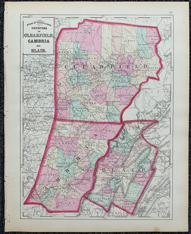Atlas of Pennsylvania 6