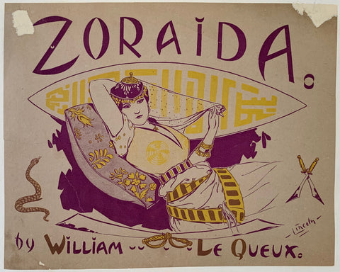 Zoraida. By William Le Queux