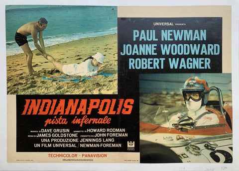 Indianapolis pista infernale - Poster Museum
