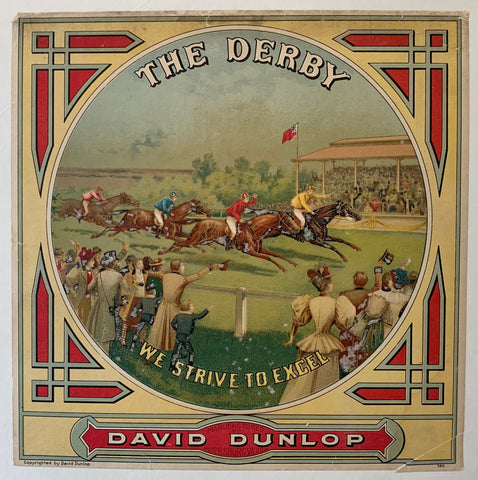 "The Derby ""We Strive to Excel"" David Dunlop"