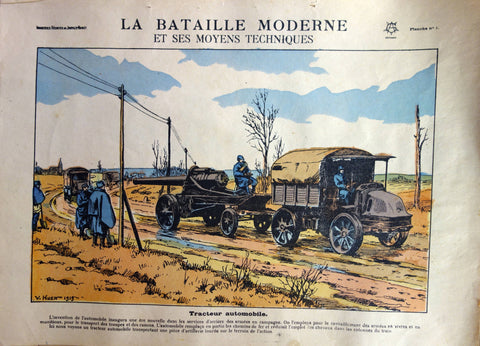 Tracteur automobile