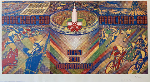 Russian Olympic Poster