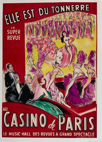 La Super Revue au Casino de Paris