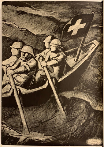 Swiss Boating Poster