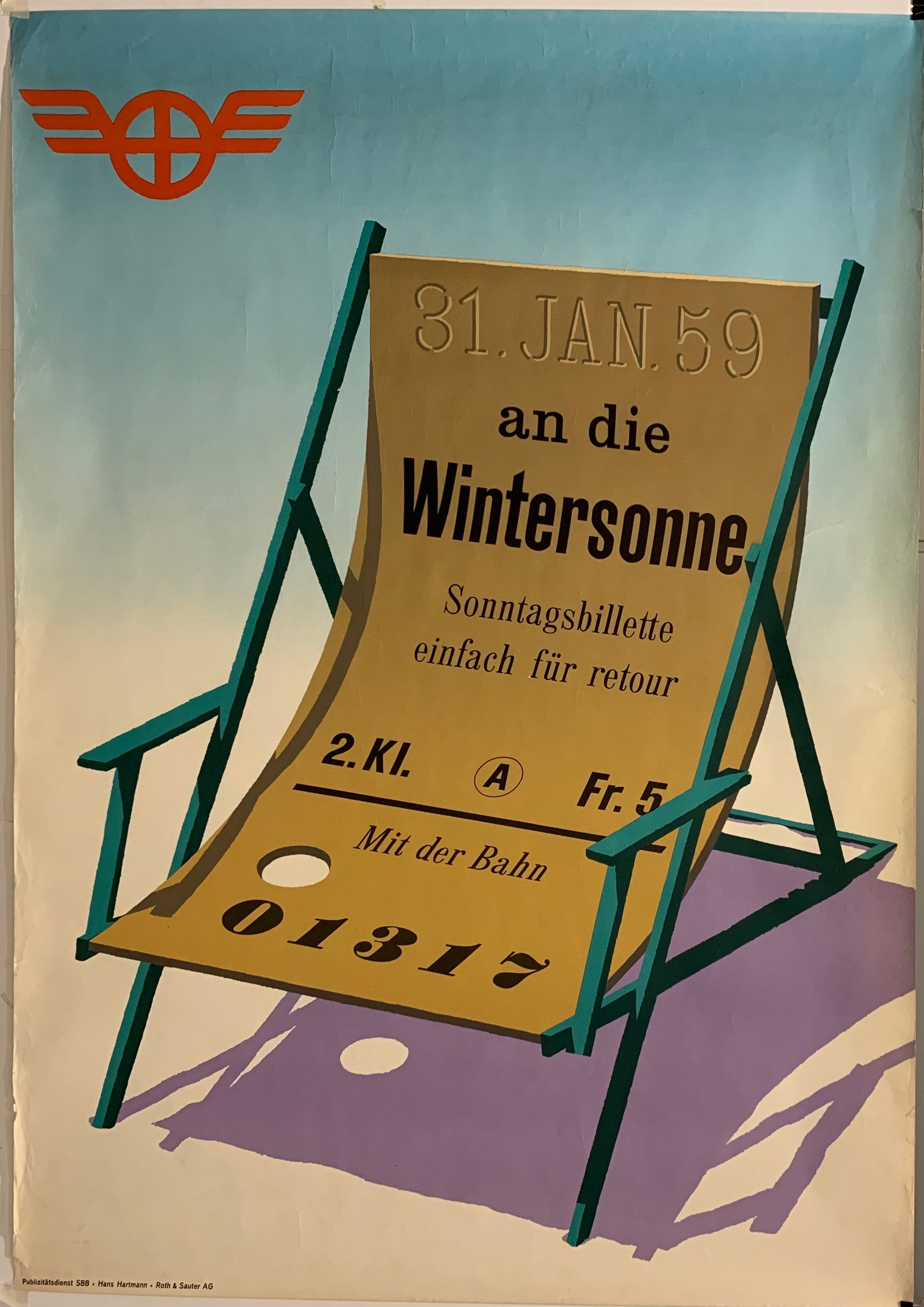Wintersonne Poster