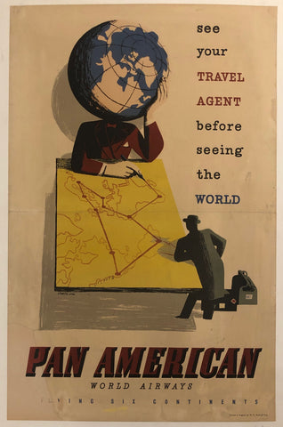 Pan American World Airways Poster