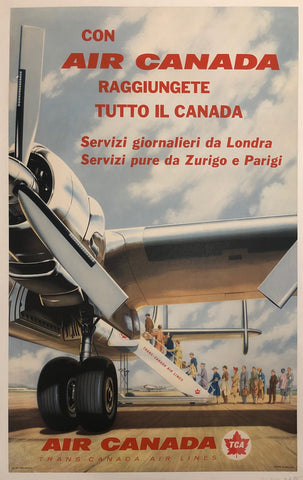 Air Canada Travel Poster