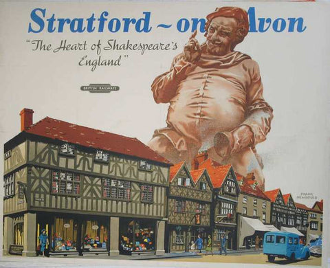 Stratford On Avon Heart Of Shakespear's England