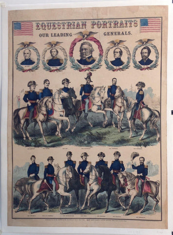 Equestrian Portraits Of Our Leading Generals