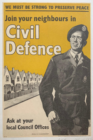 Join your Neighbours in Civil Defence - Poster Museum
