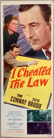 I Cheated the Law Poster