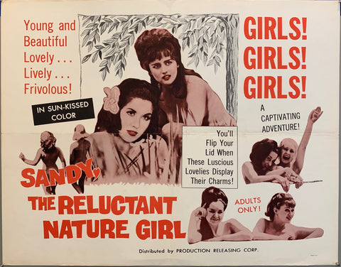 Sandy, The Reluctant Nature Girl Film Poster