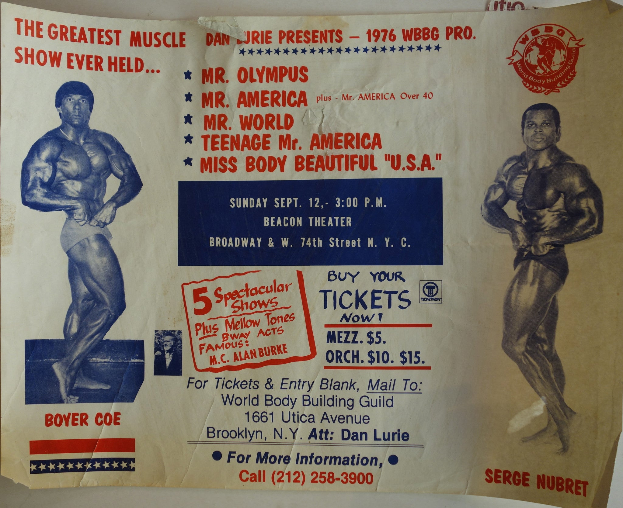 The Greatest Muscle Show Ever Held