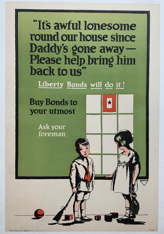 Buy your Bonds to your utmost, ask your foreman