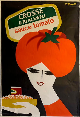 Crosse & Blackwell Sauce Tomate Poster