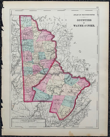 Atlas of Pennsylvania 13